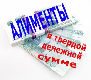 образец расчета алиментов в твердой денежной сумме - фото 7